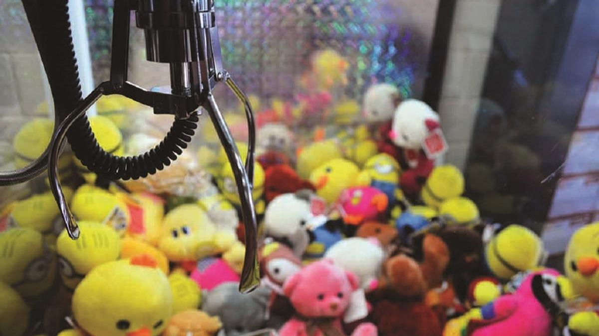 В Череповце ограбили аппарат с игрушками