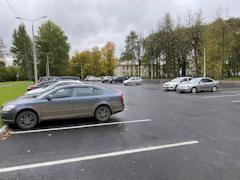 С открытием новой парковки найти место для автомобиля станет проще
