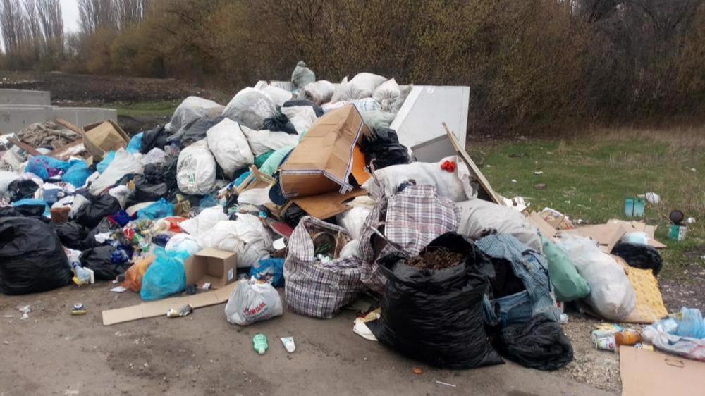 На несанкционированные свалки жалуются жители поселка Тоншалово под Череповцом