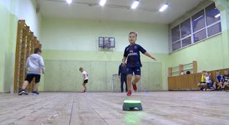 Тренеры смотрят, есть ли у ребенка способности к спорту