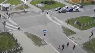 Крупная авария произошла сегодня в Вологде