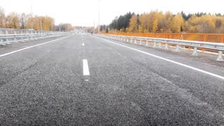 Участок трассы А-119 от Вологды до Молочного открыли для движения транспорта