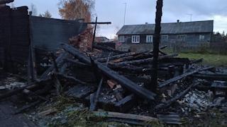 На пожаре погиб 28-летний мужчина
