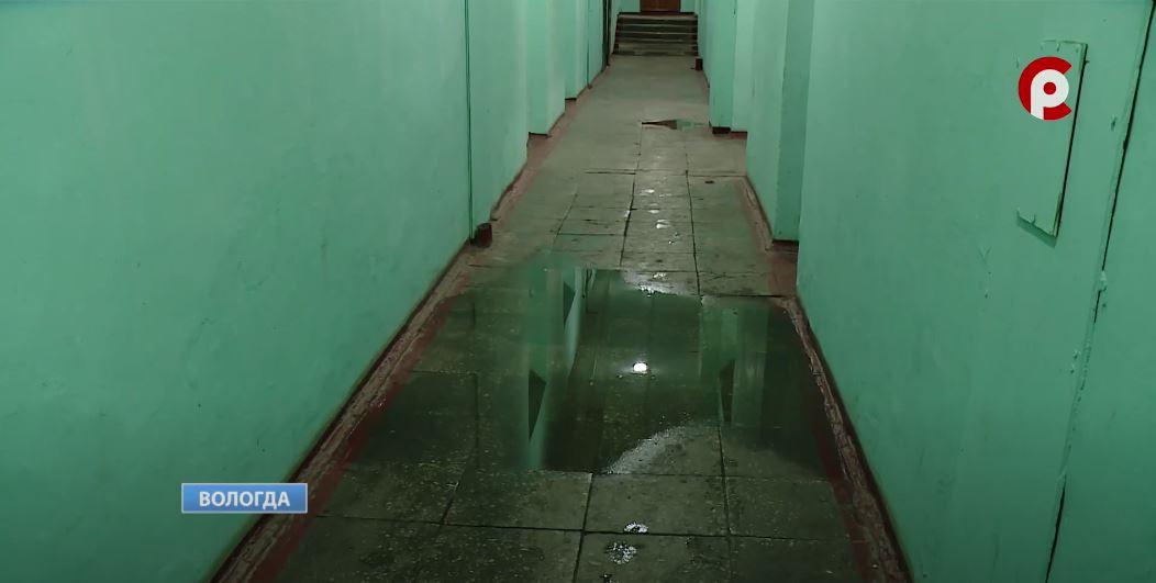 Все этажи ниже третьего затопило