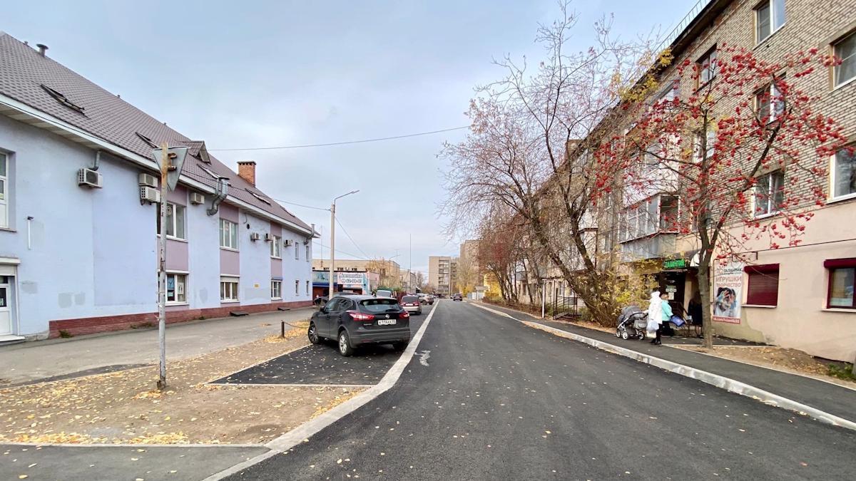 Строительство улицы Свердлова  завершено в Череповце