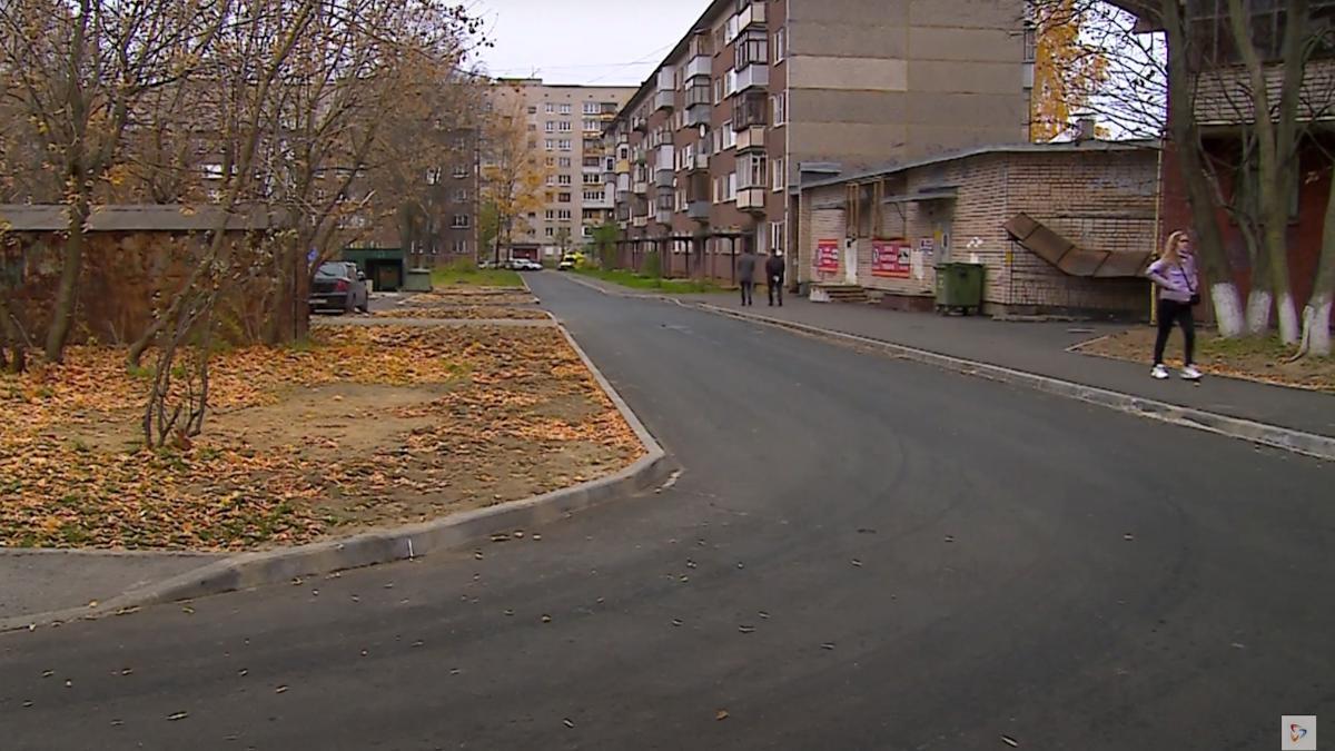 57 дворов Череповца благоустроили в этом году по программе «Комфортная городская среда»