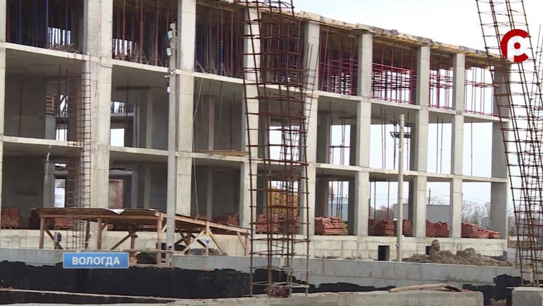 Сумму государственного контракта на строительство школы в микрорайоне Охмыльцево в Вологде планируют увеличить