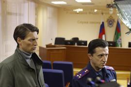 Иван Колесников сыграл следователя СКР на съемках в Вологде.