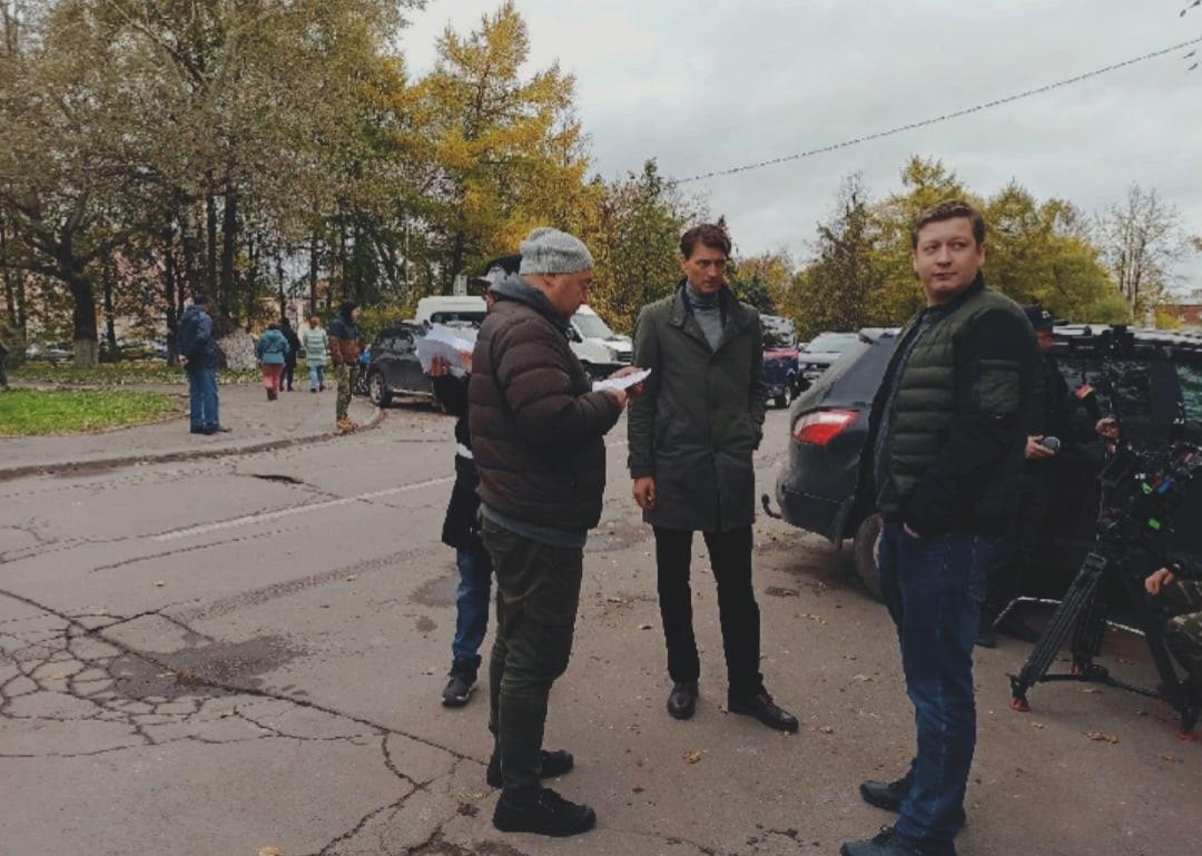 Для съемок в древнем городе актер Иван Колесников сделал перерыв в ежедневных тренировках на льду