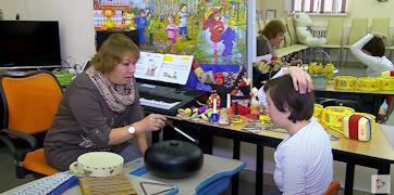 Для детей в центре реабилитации «Преодоление» обустроили интересные и комфортные площадки