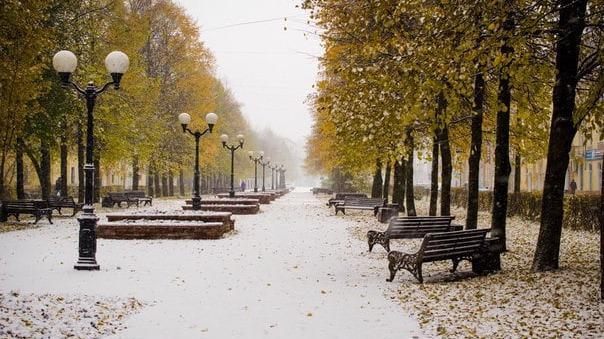 Снег уже на следующей неделе может выпасть в Череповце
