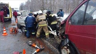 Авария натрассе унесла жизнь трех человек