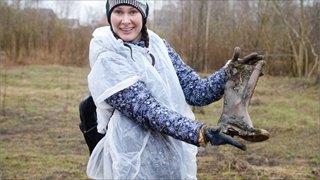 Что нашли волонтеры вМакаринской роще?