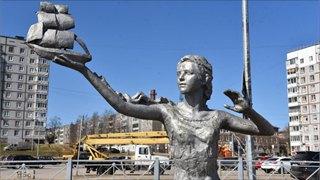«ГЧ» нашел Марину, вдохновившую скульптора насоздание «Ассоли»