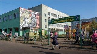 Игры в«Силовичка»: детская площадка изАрхангельска прославилась навсю страну