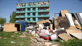 «Черт ногу сломит»: гора мусора наЧкалова