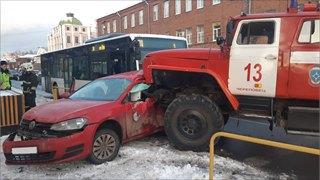 Судят водителя пожарной машины
