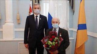 Эдуард Гарбер стал почетным гражданином