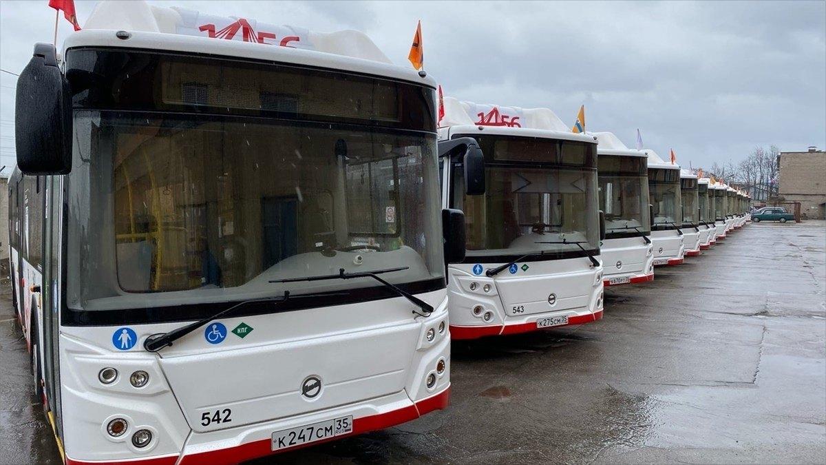 Новые автобусы завтра выйдут намаршруты вЧереповце