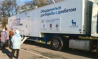 Мобильный диабет-центр изПетербурга будет приезжать наВологодчину ежегодно