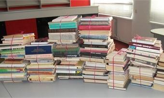 Акцию посбору книг запустили работники вологодского отделения «Почты России»