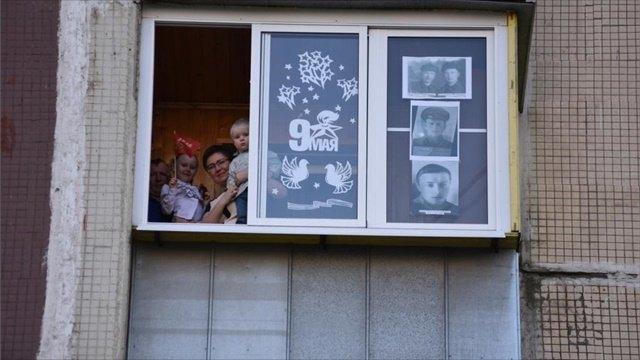 Концерт— водворе, зрители— набалконе: как Череповец отметил День Победы?