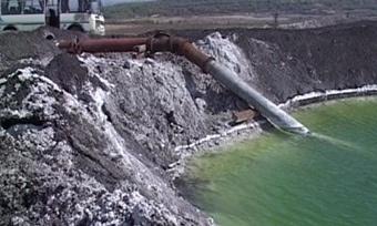 Больше 1млн рублей зазагрязнение реки выплатит сотрудник предприятия «Аммофос»
