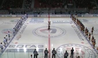 Хоккейная команда «Северсталь» начала чемпионат КХЛ спобеды