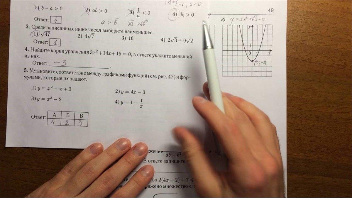 Более 6тысяч девятиклассников сегодня пишут итоговый экзамен поматематике