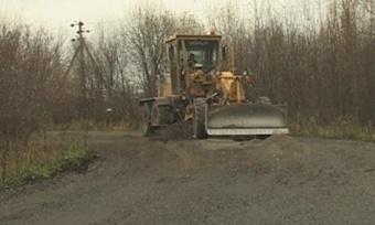 Дорогу наРоманду начали ремонтировать
