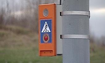Еще один светофор скнопкой для пешеходов появился вЧереповце