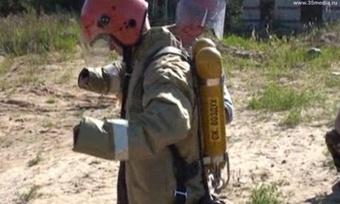 Вологодские спасатели соревнуются