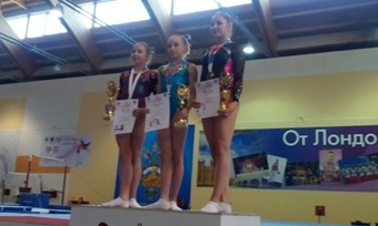 Череповецкая гимнастка— призер Спартакиады молодежи России