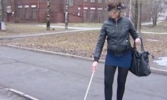 Вологодские студенты проверили насебе, каково это— быть слепым