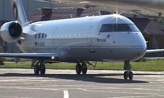 Учереповчан появился канадский авиалайнер