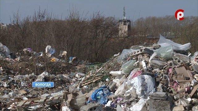 Частная территория наокраине Вологды превратилась вмусорный полигон