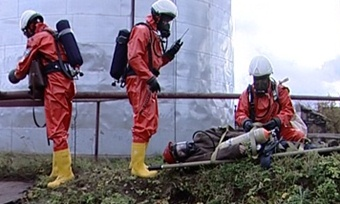 Крупная авария произошла на«Аммофосе»— такова легенда учений МЧС вЧереповце