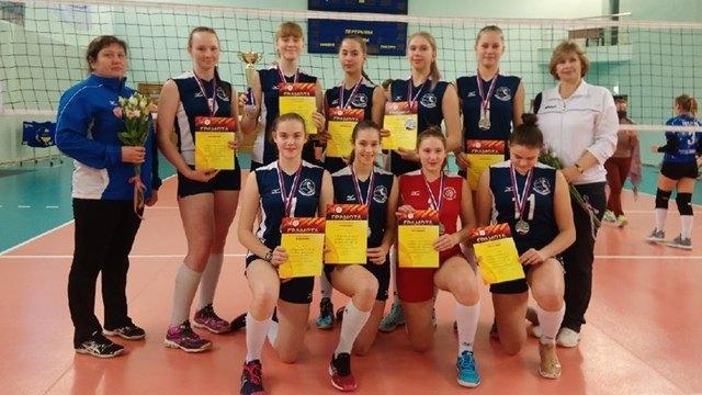 Череповецкие волейболистки вышли вовторой этап Первенства России для девушек нестарше 16лет