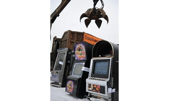 Игровые автоматы отправляют напереплавку
