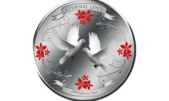 Вфилиалах Сбербанка можно приобрести монеты кДню влюбленных