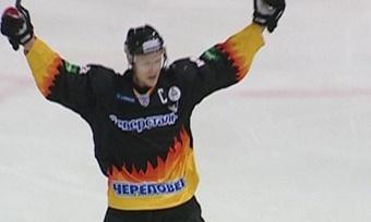 Хоккейная «Северсталь» уступила насвоем льду «Атланту» изМосковской области