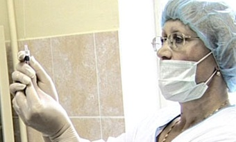 План повакцинации против гриппа наВологодчине выполнен уже на50%
