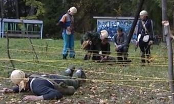 Нафинал «Зарницы» под Вологду съехались 300 подростков совсей области