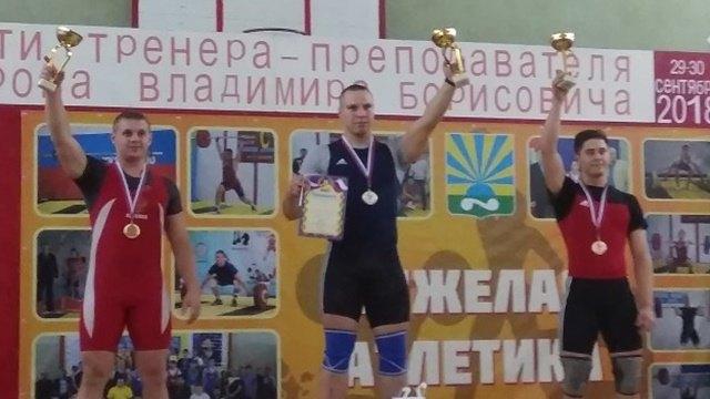 Череповецкие штангисты успешно выступили на турнире в Новгородской области