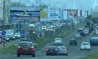 Бизнесменов заставляют снести рекламные конструкции наОктябрьском проспекте Череповца