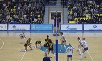 Волейбольная «Северсталь» нанесла поражение чемпиону иобладателю Кубка России