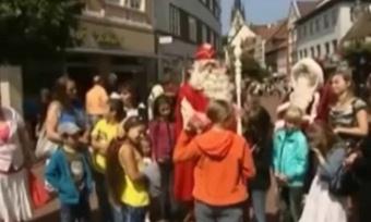 Дед Мороз обзавелся резиденцией вГермании
