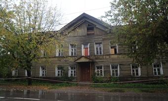 Разрушено историческое здание