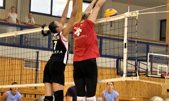 Волейболистки «Северстали» выиграли первый контрольный матч