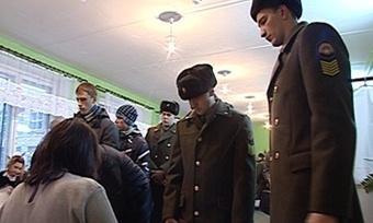 Курсанты военного института сделали свой выбор